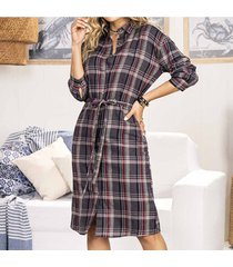 vestido birmania morado para mujer croydon