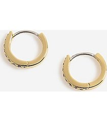 *house of freedom crystal earrings - clear