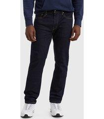 jeans levis 502 taper dark hollow negro - calce ajustado