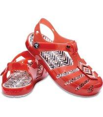 sandália crocs infantil drew isabella sandal feminina