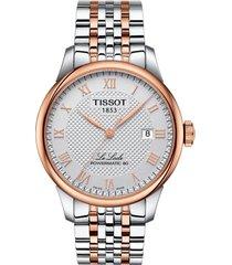 tissot le locle bracelet watch, 39mm
