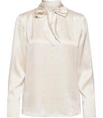 blouse long-sleeve blus långärmad creme gerry weber
