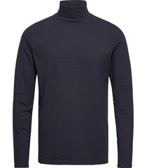 akkomet t-shirt t-shirts long-sleeved blå anerkjendt