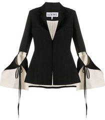 loewe cutout blazer - black