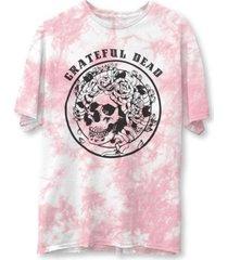 junk food women's tie-dyed graphic-print cotton t-shirt