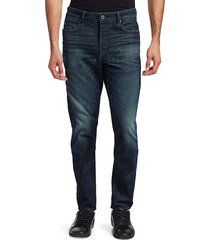 g-star raw men's brixton kinetic slim straight fit jeans - antic nile - size 31 32
