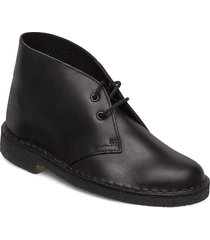 desert boot. shoes boots ankle boots ankle boot - flat svart clarks originals