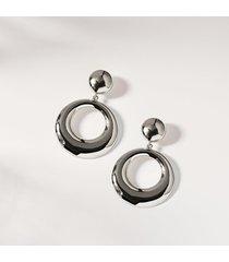 aida sterling silver hoop earrings