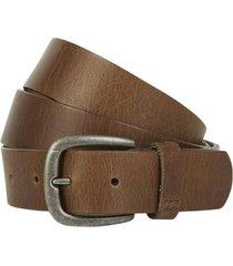 cinturón all day leather belt brown billabong