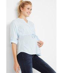 zwangerschapsblouse / voedingsblouse