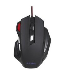 mouse gamer pro usb led 7 botões 465 bright