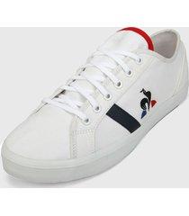 tenis lifestyle blanco-azul-rojo le coq sportif