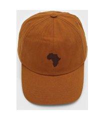 boné kanui dad cap africa caramelo
