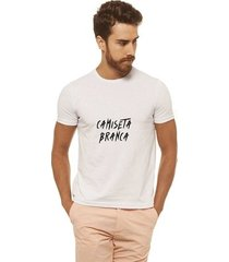 camiseta joss - camiseta branca - masculina