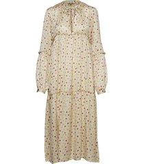 blanca jurk knielengte geel gai+lisva