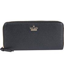 lindsey zip-around leather wallet