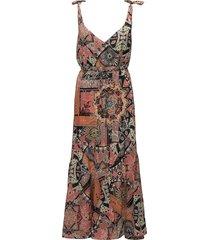 soul mate tie dress jurk knielengte multi/patroon odd molly