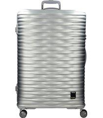 maleta super light medium mercury plateado bubba bags