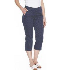 pantalón azul oscuro liso lorenzo di pontti