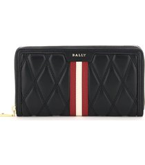 bally dalen quilted wallet