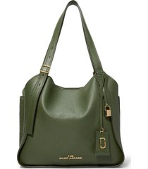 marc jacobs the director leather tote - green