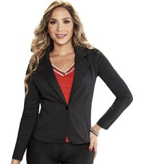 blazer gaby negro  para mujer croydon