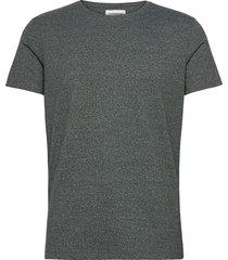 mouliné o-neck tee s/s t-shirts short-sleeved grön lindbergh