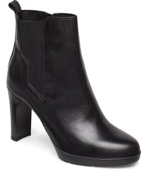 d annya high a shoes boots ankle boots ankle boots with heel svart geox