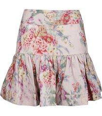 zimmermann wavelength mini skirt