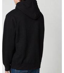 polo ralph lauren men's fleece hoodie - polo black - xxl