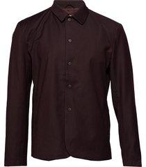 camley skjorta casual röd minimum
