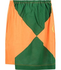 the animals observatory multicolor skirt for girl