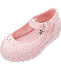sapatilha melissa mini com pochete bb rosa - rosa - menina - dafiti