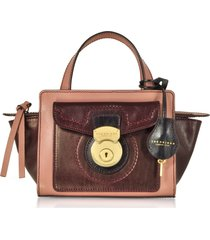 the bridge rufina small leather satchel bag