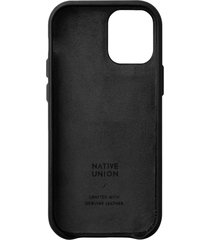 native union clic classic iphone case - black - iphone 12/12 pro