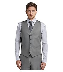 1905 navy collection slim fit flat front men's suit separates vest clearance by jos. a. bank