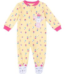baby girls mouse footie
