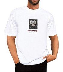 camiseta de manga corta con estampado gráfico de verano para hombre