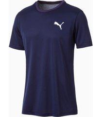 active t-shirt voor heren, blauw, maat l | puma