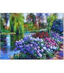 "david lloyd glover 'promise of spring' canvas art - 32"" x 24"""