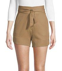 magik belted shorts