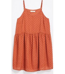 loft clip strappy swing dress