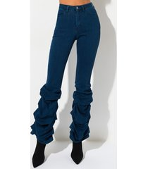 akira better off high waisted scrunched ankle jeans