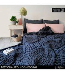 pleciona narzuta na łóżko 180x220cm