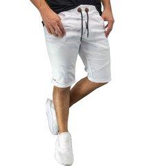 bermuda jogger blanco manpotsherd ref: joggshort