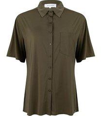 traveller korte mouwen blouse
