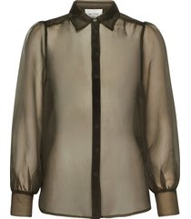 opal shirt blouse lange mouwen zwart second female