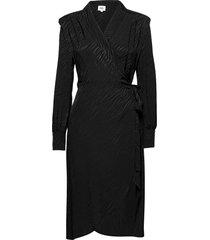 ember dress knälång klänning svart twist & tango