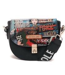 bolso negro-multicolor nicole lee
