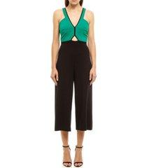 women's colcci capri jumpsuit